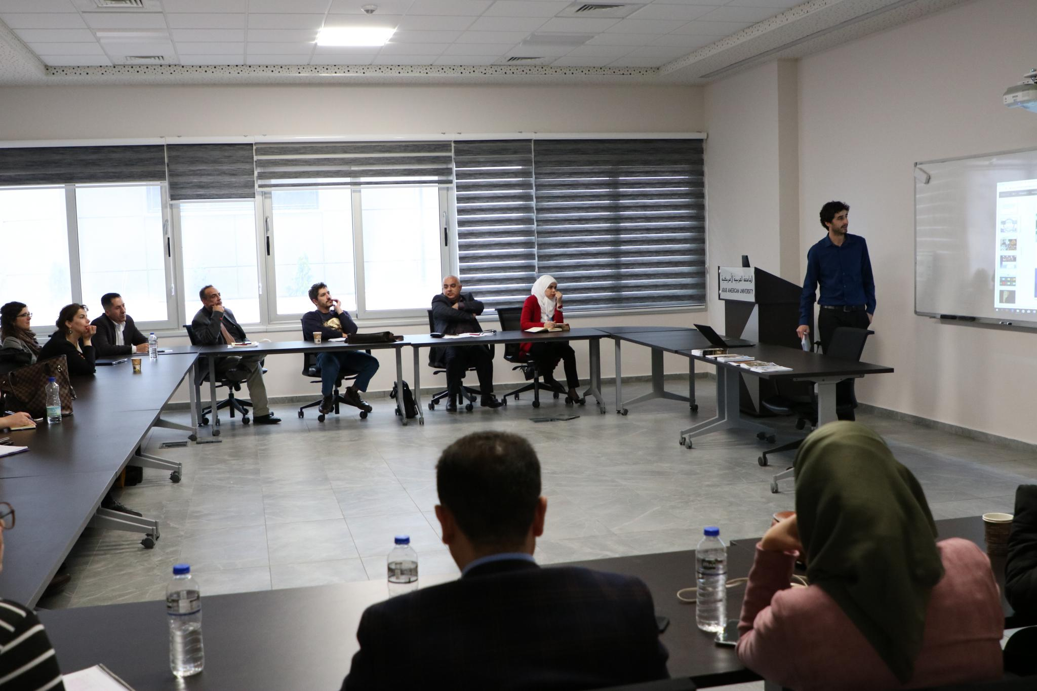 """The University organizes a lecture entitled """"Archiving between International Concept and Palestinian Concept"""""""
