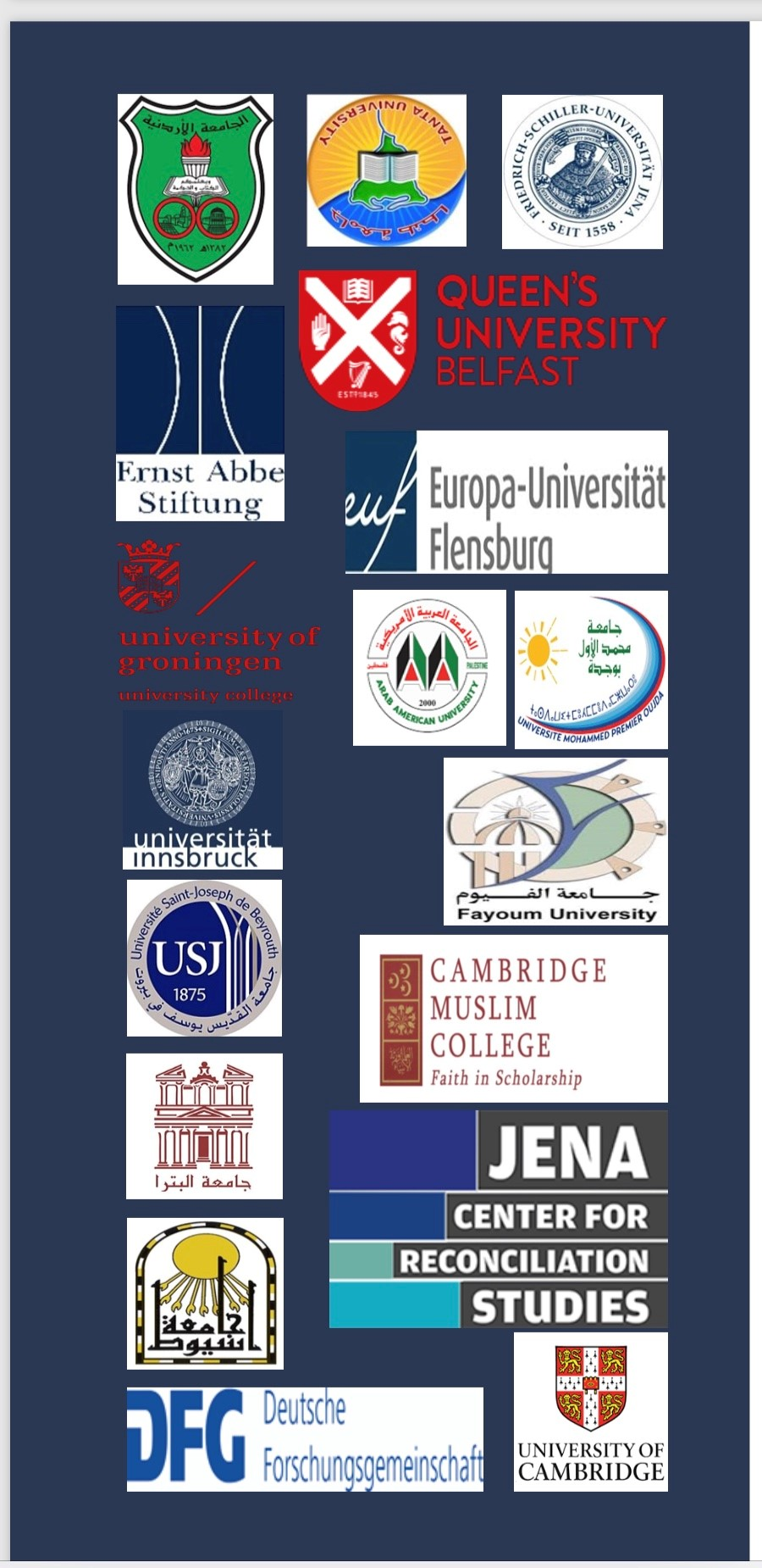 The Academic alliance for Reconciliation and settlement in the Middle East and North Africa.