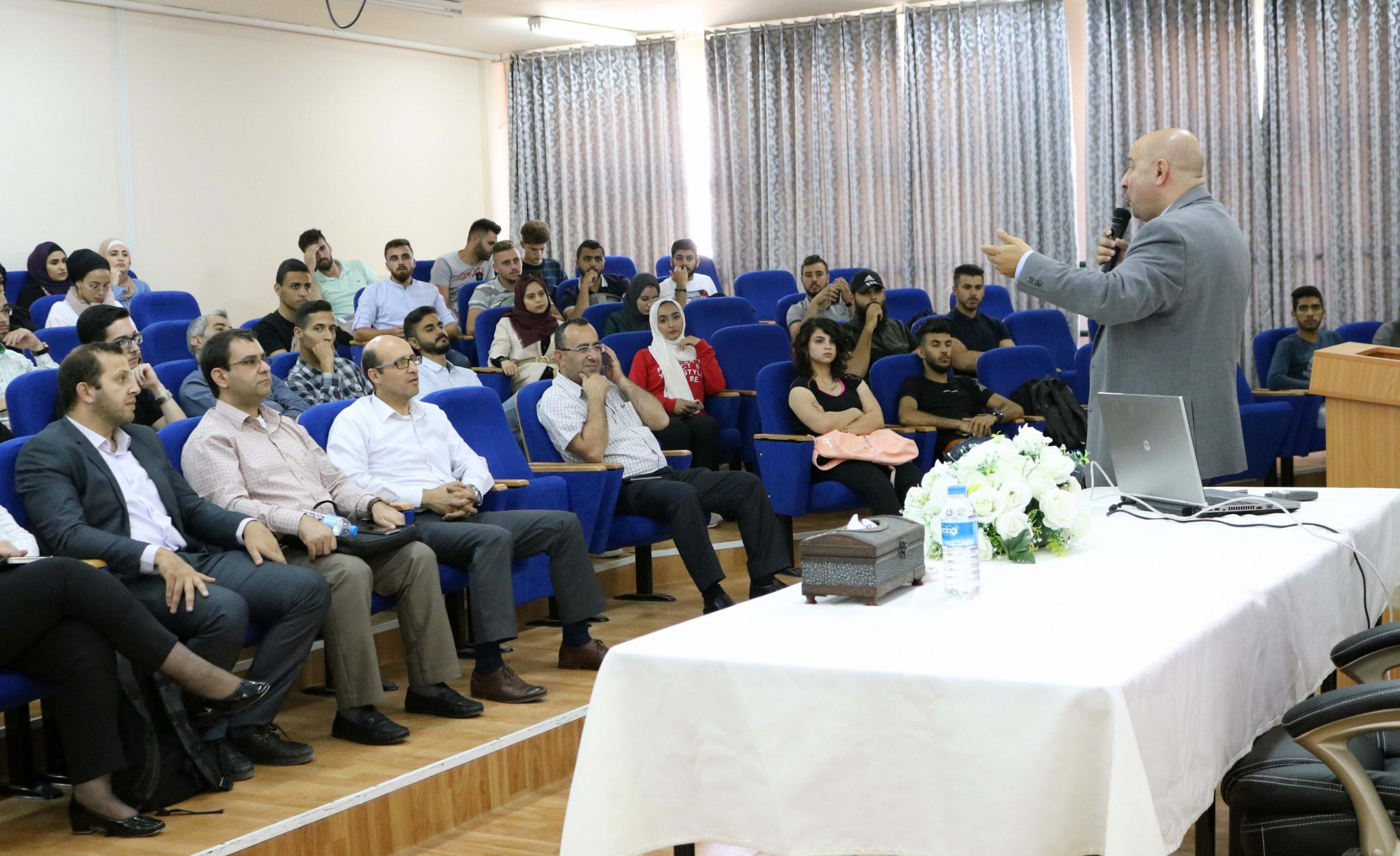 "AAUP Organizes an Awareness Workshop About "" Cyber-Security and Its Risks """