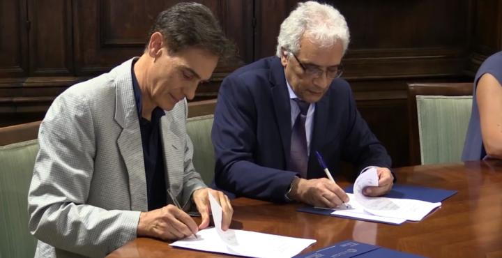 الجامعة واكاديمية فيرونا للفنون توقعان اتفاقية لطرح برنامج بكالوريوس في العمارة الداخلية