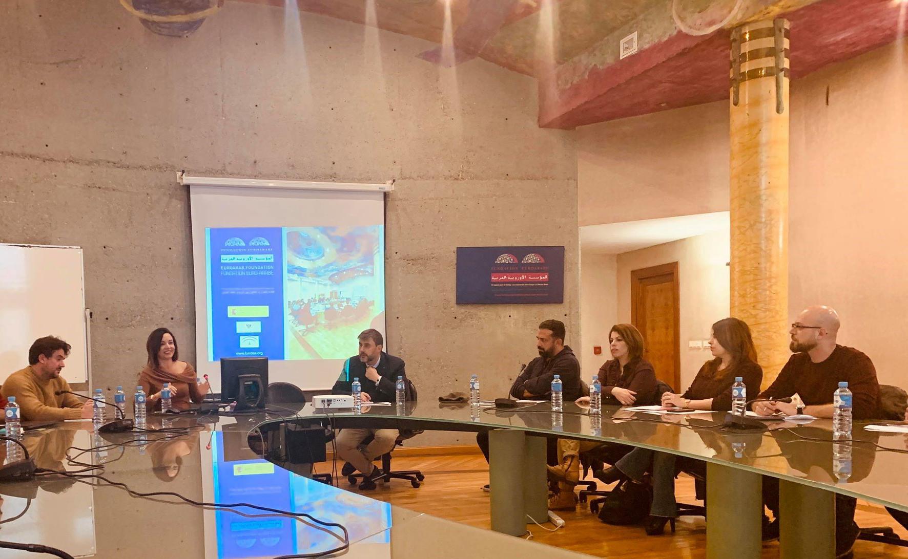الجامعة تبدأ دورة تدريبية في جامعة غرناطة باسبانيا ضمن مشروع تعزيز الكفاءة الوطنية