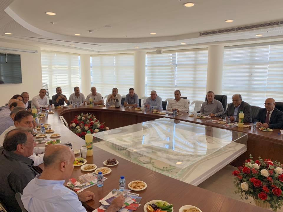 Part of the meeting in Sakhnen