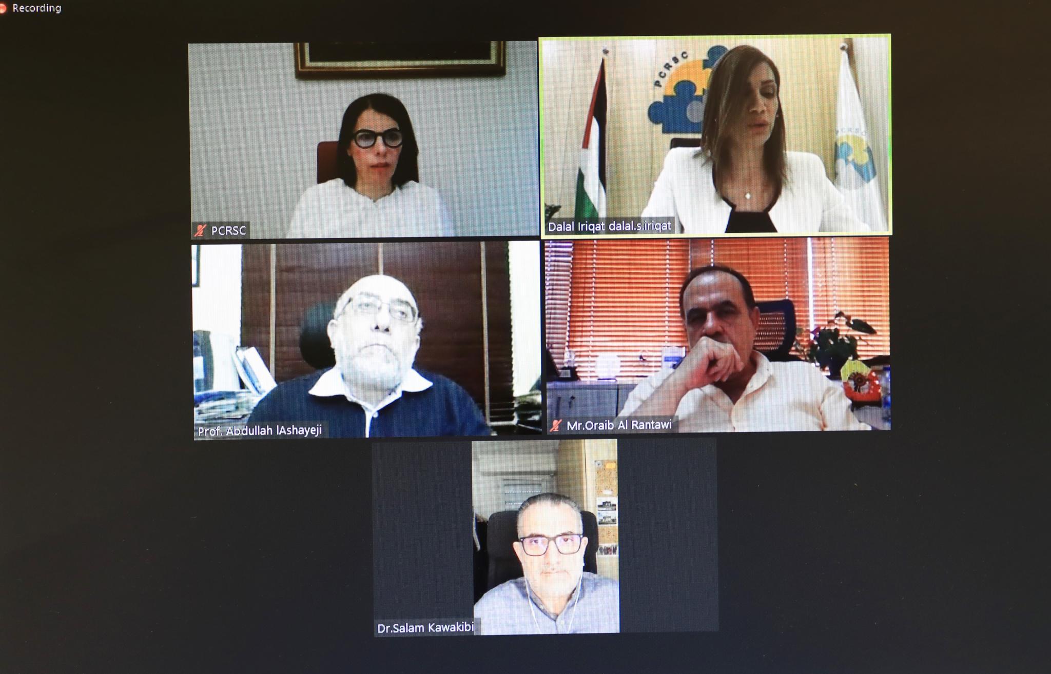 Participants through ZOOM