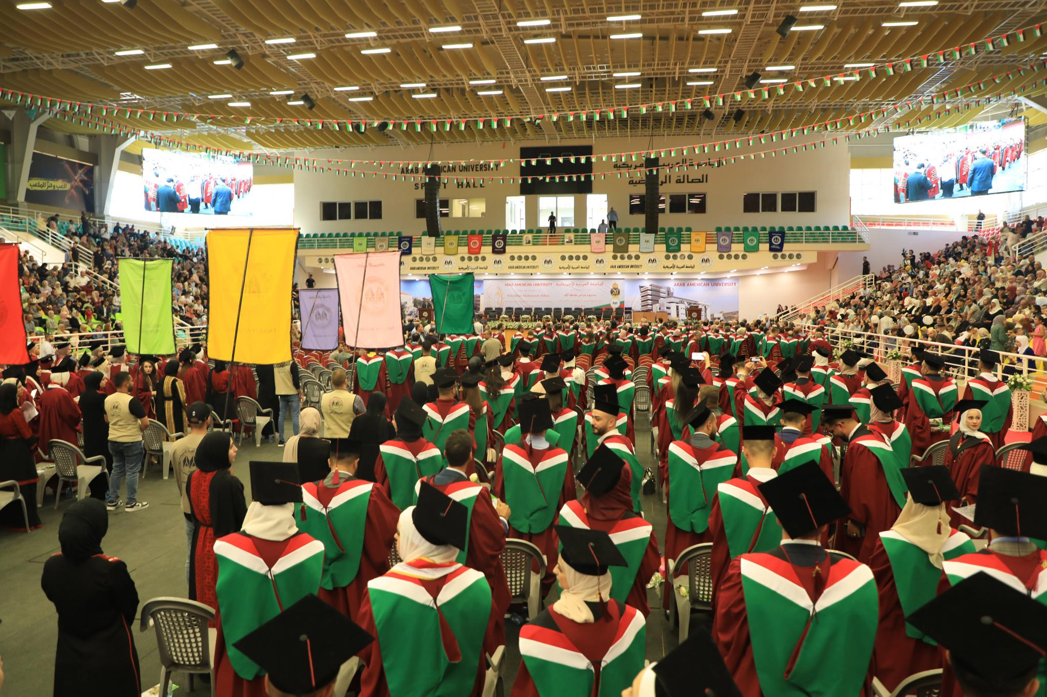 AAUP Starts the Celebrations of the Graduation Ceremonies of its 17th and 18th Cohorts
