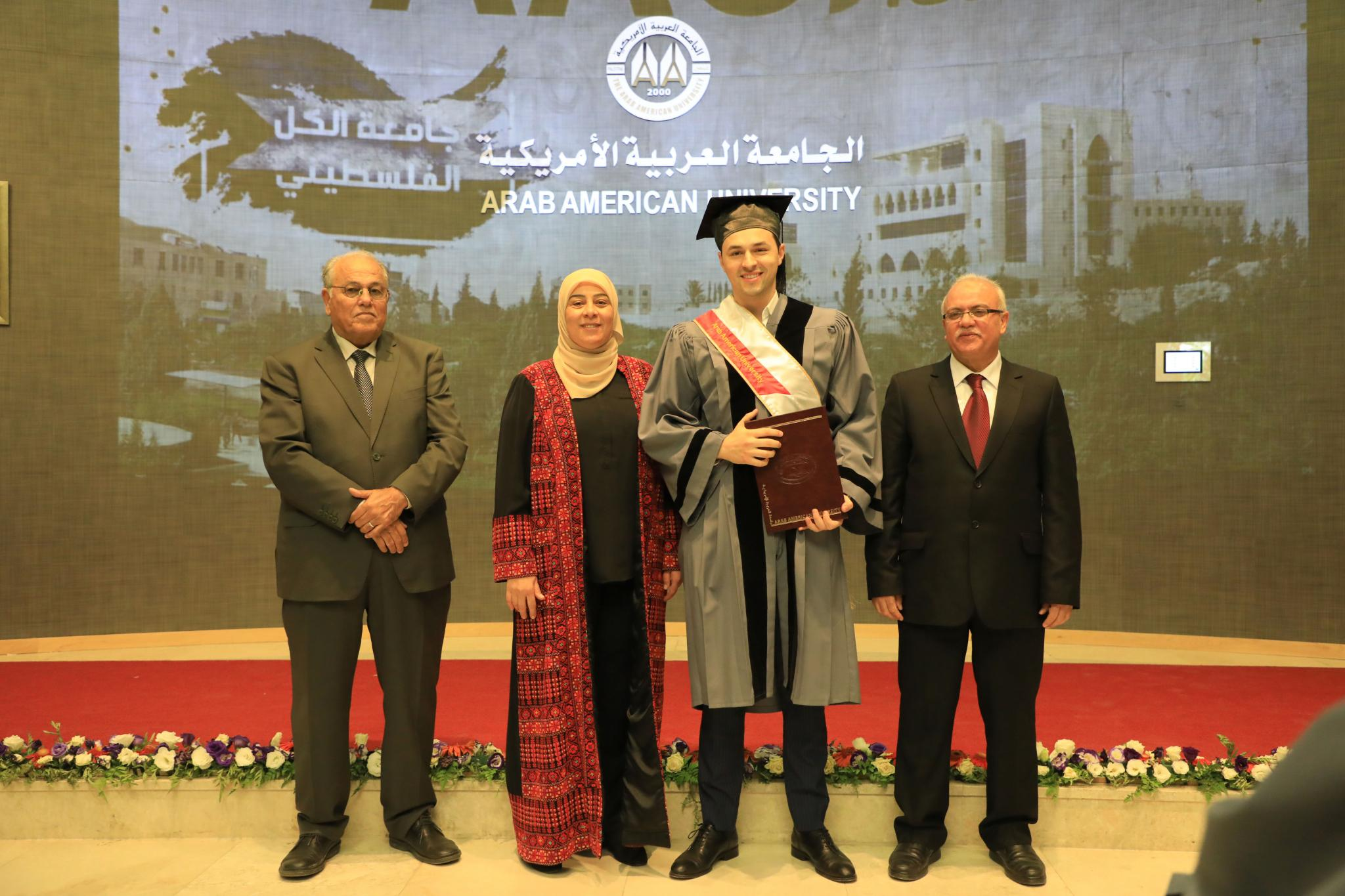 AAUP Celebrates the Graduation of the Students of the Faculty of Graduate Studies for the Academic Year 2018/2019