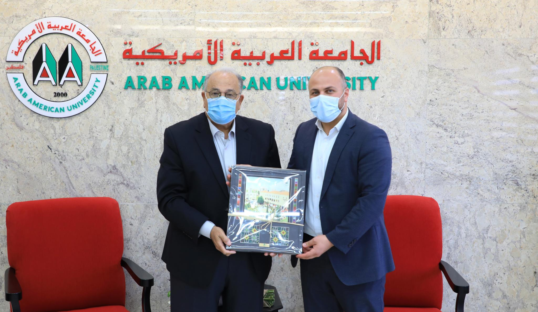 Jawwal gifting AAUP in its 20th anniversary