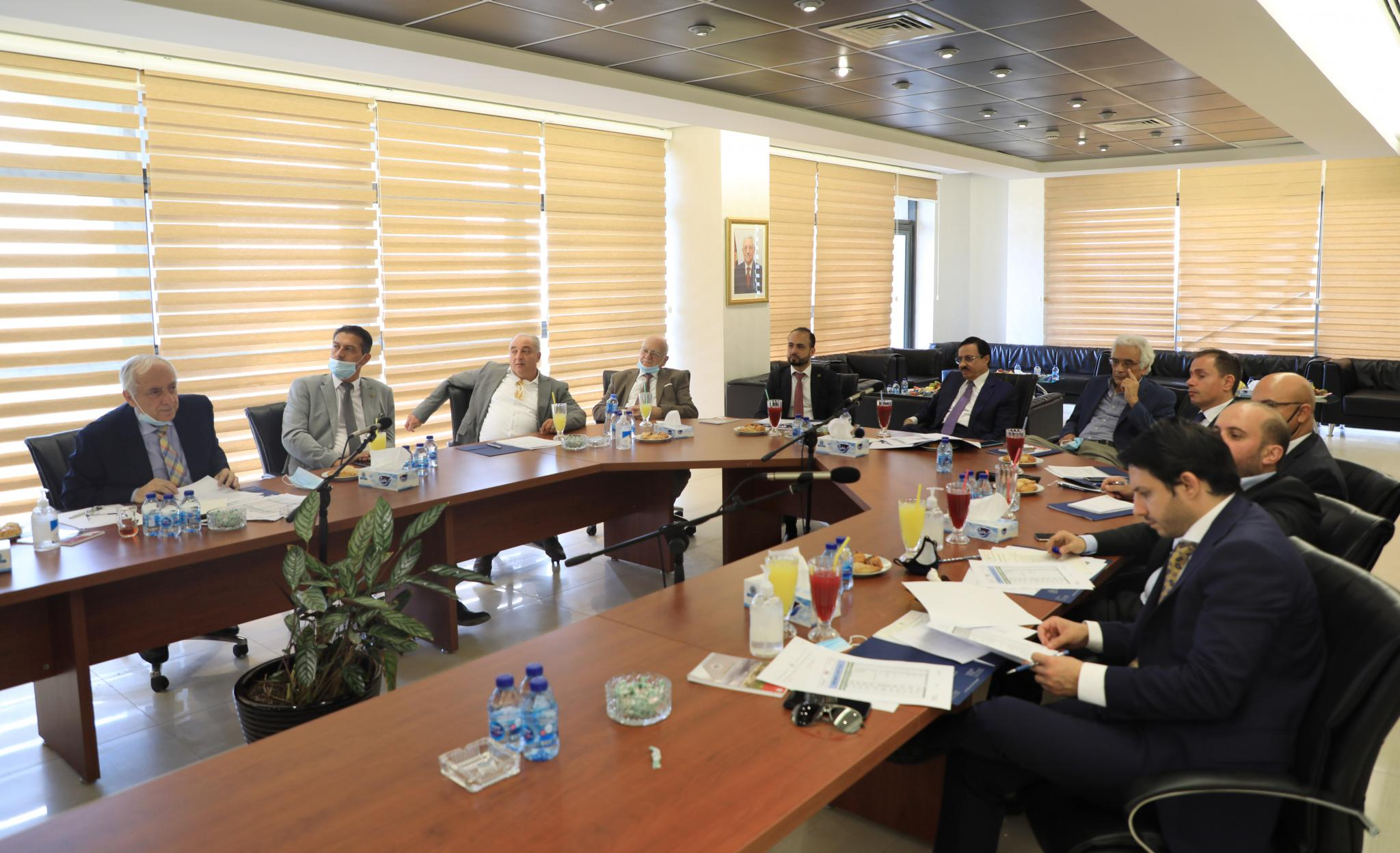 The Board of Directors meeting