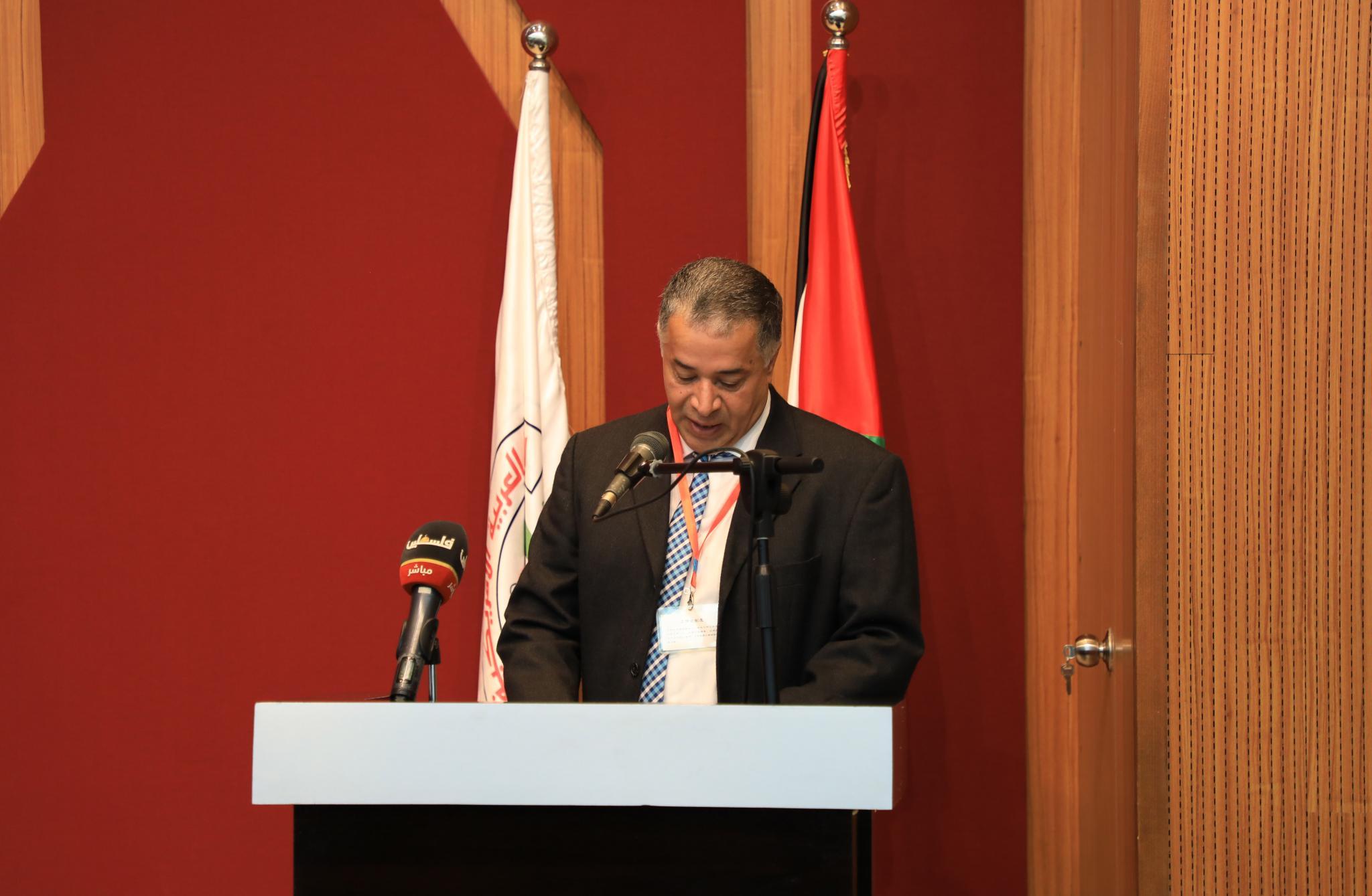 رئيس اللجنة التحضيرية للندوة ورئيس قسم هندسة الاتصالات