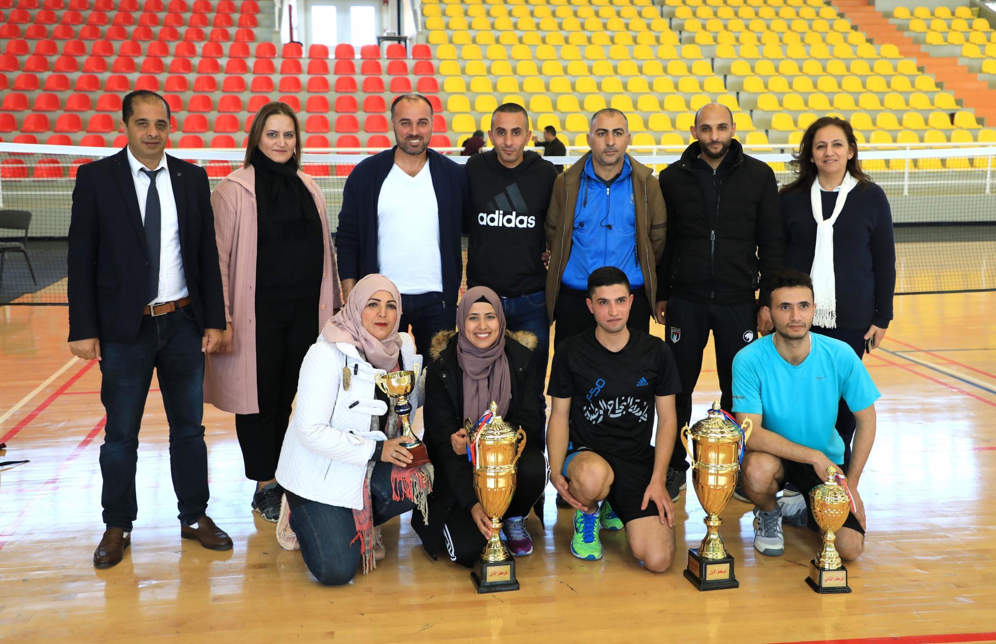 Honoring the championship winners