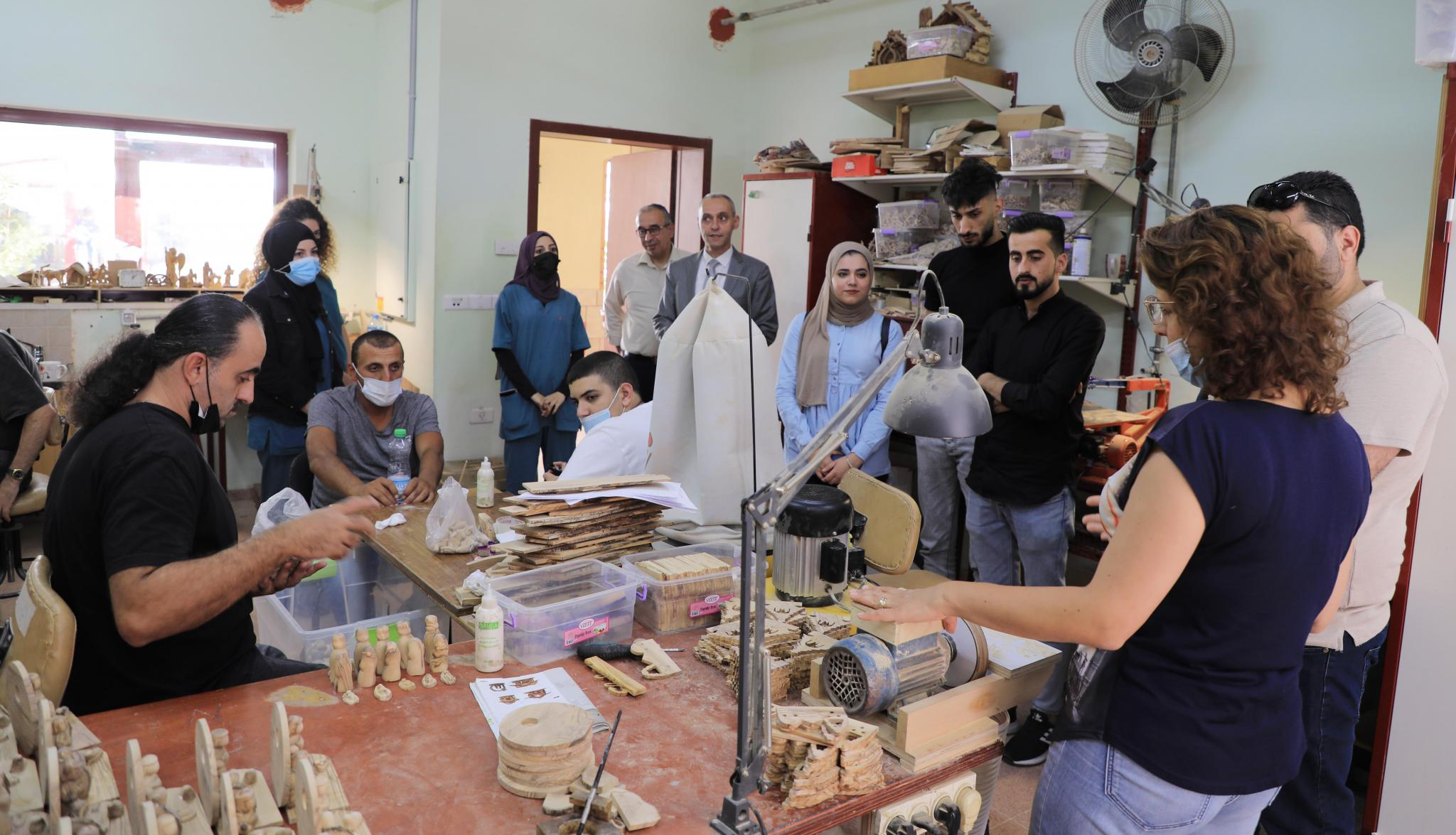 The Faculty of Allied Medical Sciences in AAUP Visits Medical Organizations in Bethlehem to Discuss Training Opportunities for Prosthetics Program Students
