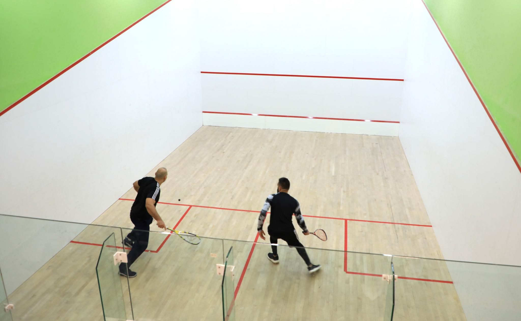 The conclusion of the first Squash championship in AAUP