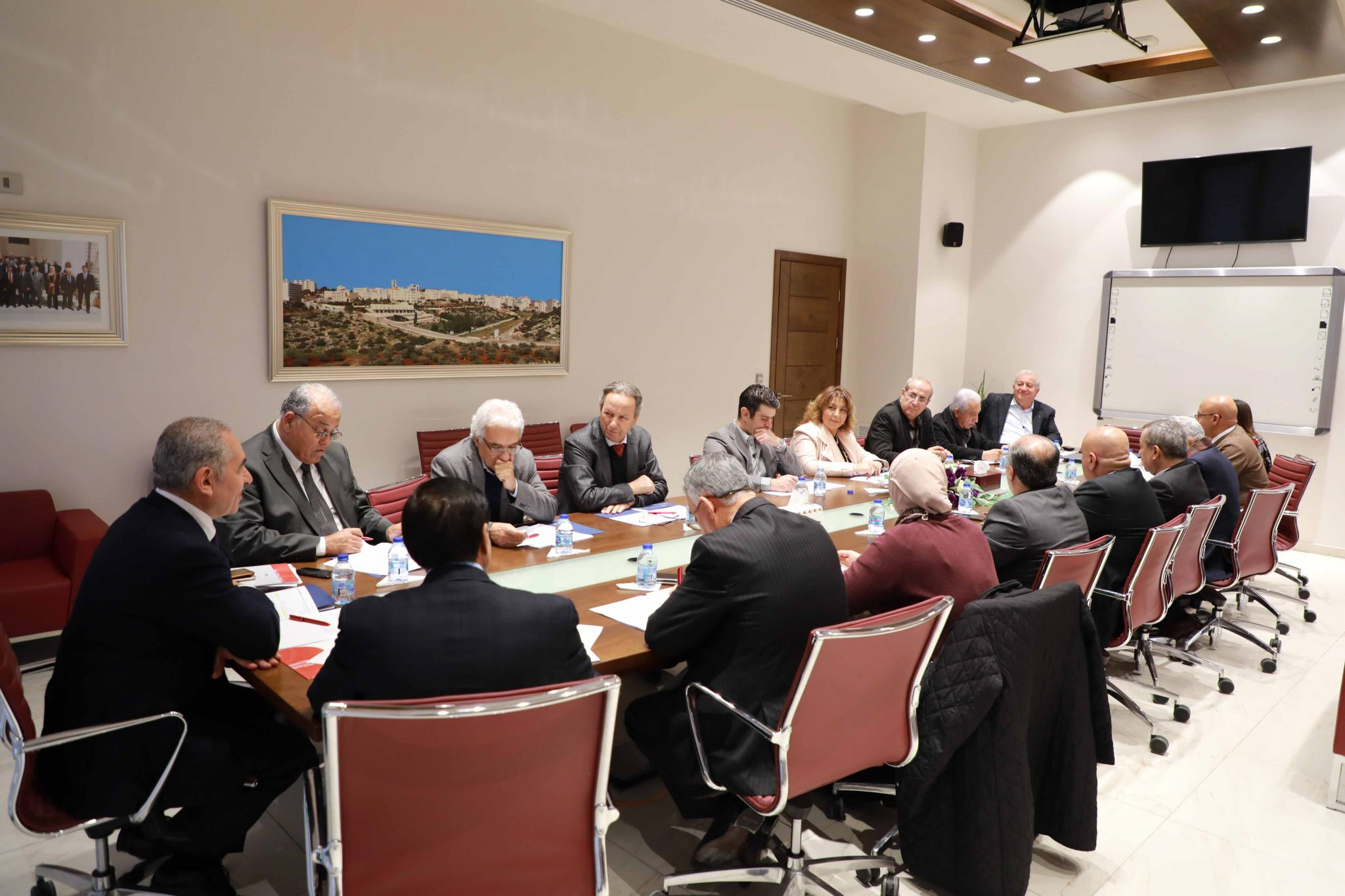 Board of Trustees at the University Discusses Developing Quality Academic Programs