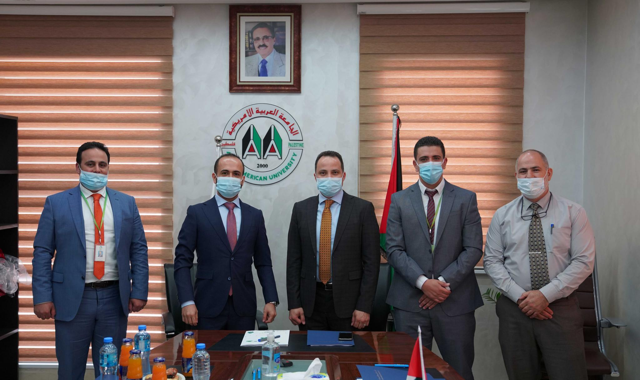 AAUP and Jawwal signed a new strategic partnership agreement
