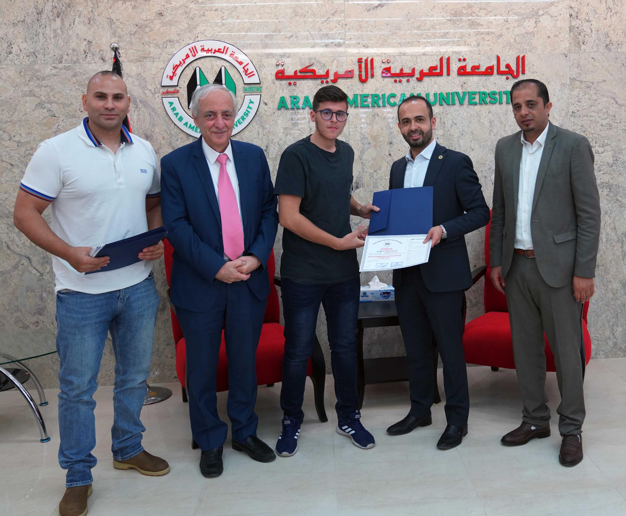 AAUP Graduated 17 Students From Sports Rehabilitation Course