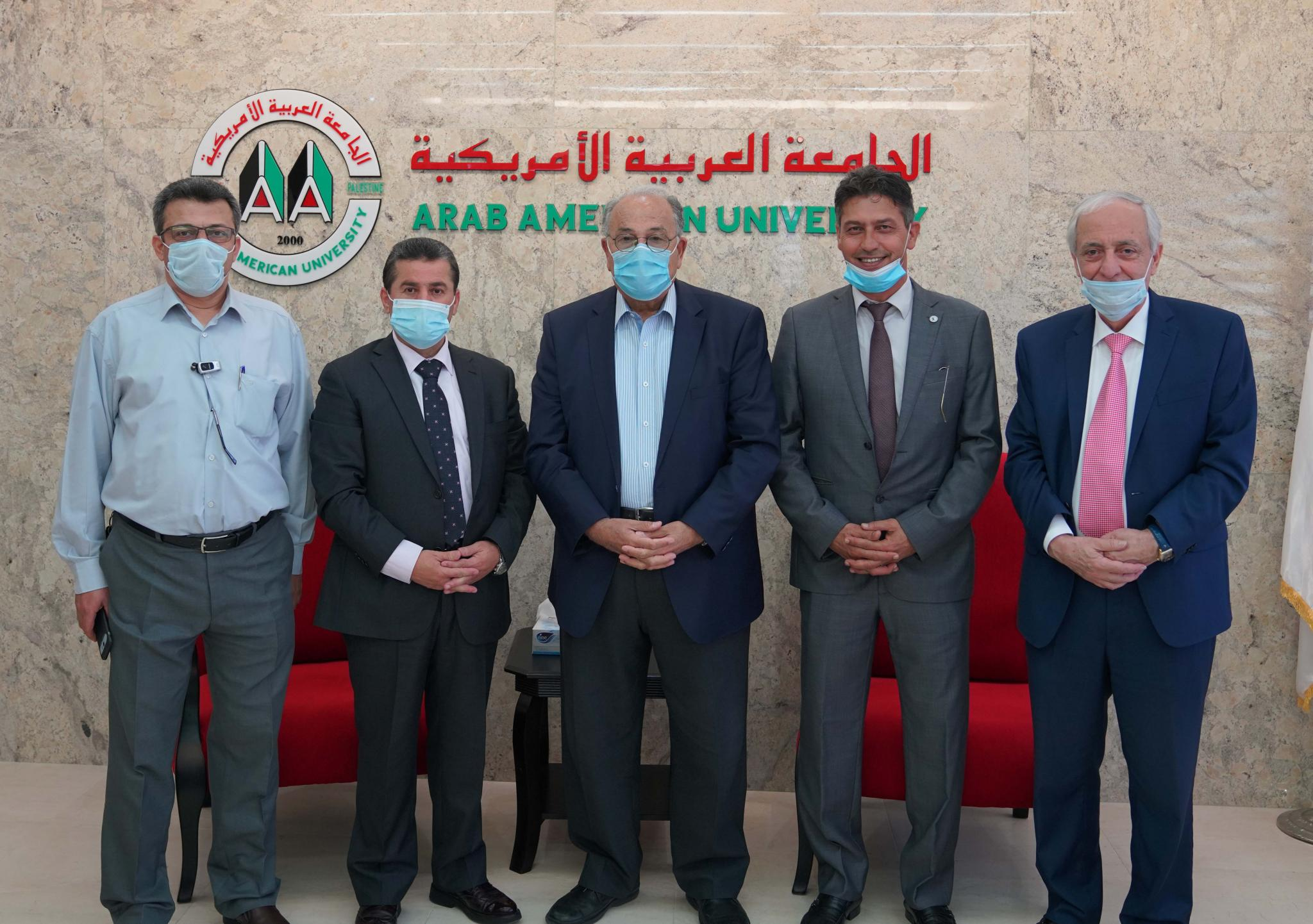 Dr. Imad Dwaikat assumed his duties as the Dean of the Faculty of Medicine in Arab American University.