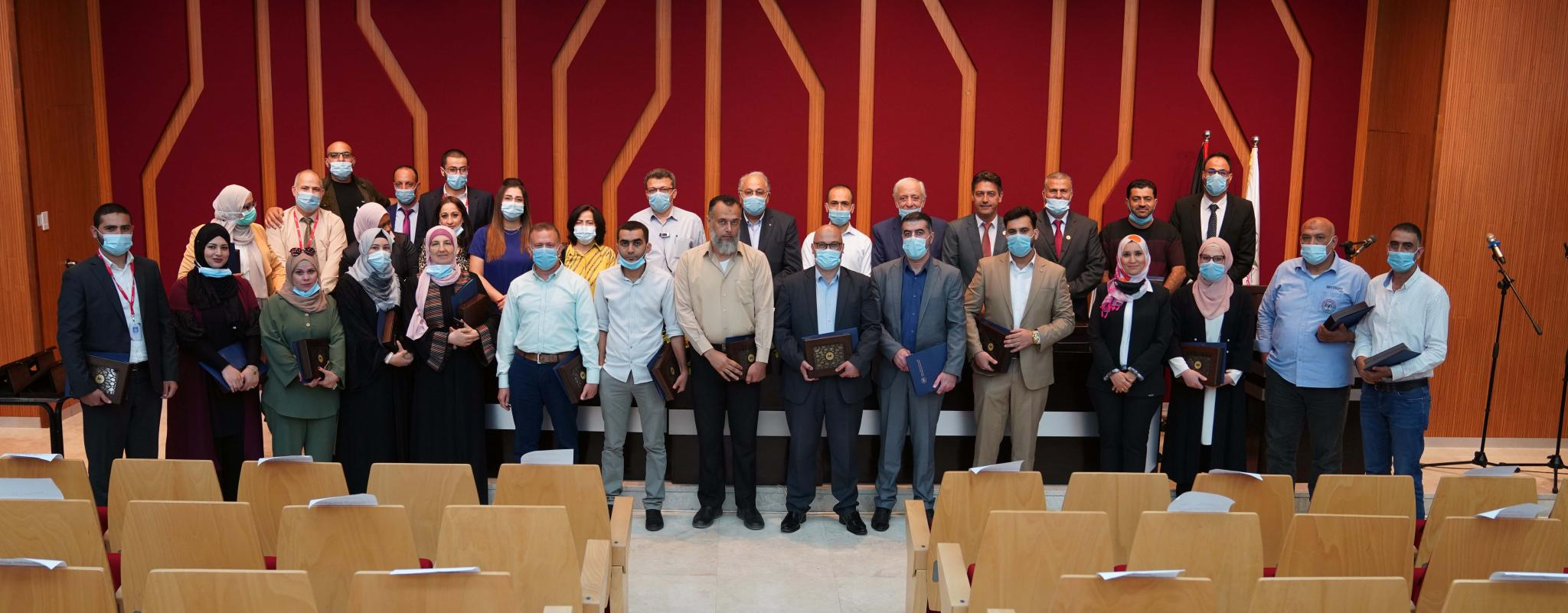 Arab American University honored its excellent researchers, academics and administrators