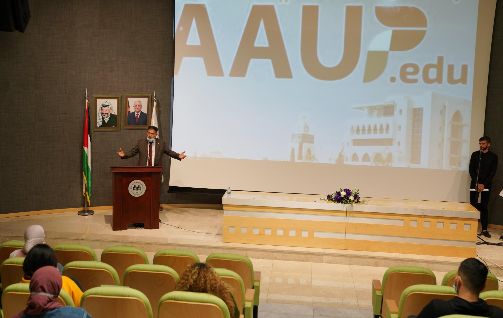 An Orientation Day in Ramallah Campus for New Students of the Academic Year (2020/2021)
