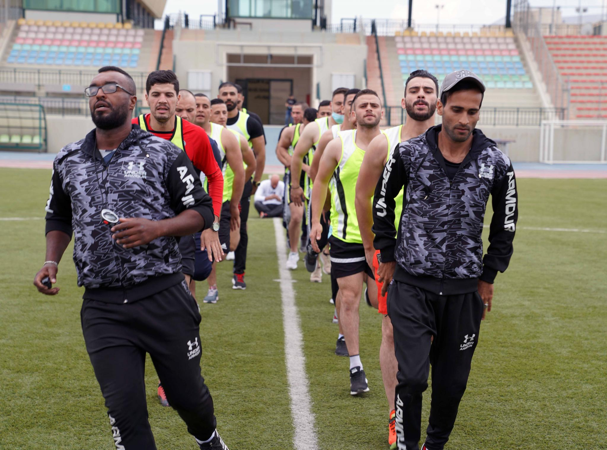 The Palestinian Team of the Palestine National Athletics Federation