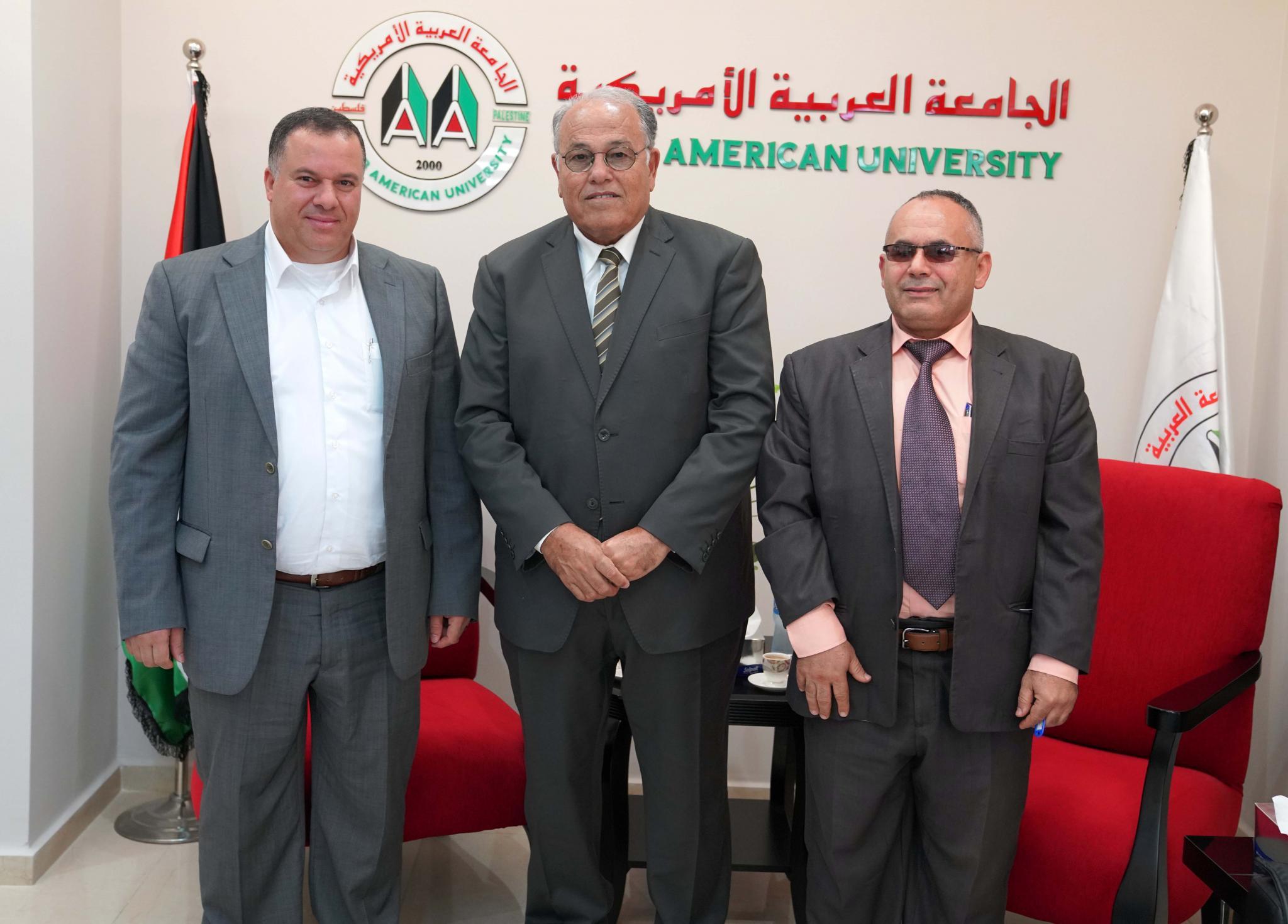 The university hosts the businessman Mr. Shaddad Khanfar