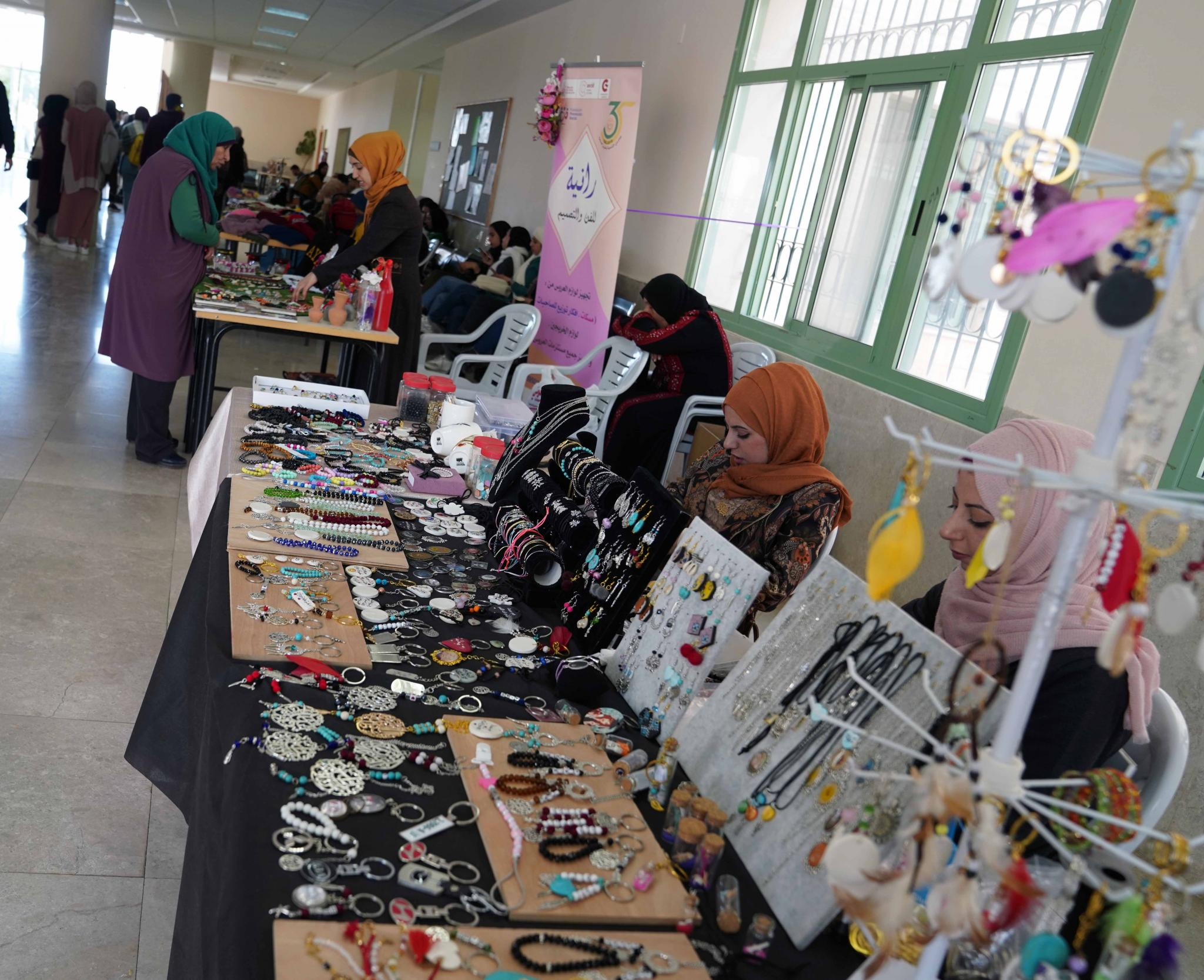 AAUP Organizes a Fair for its Students' Projects