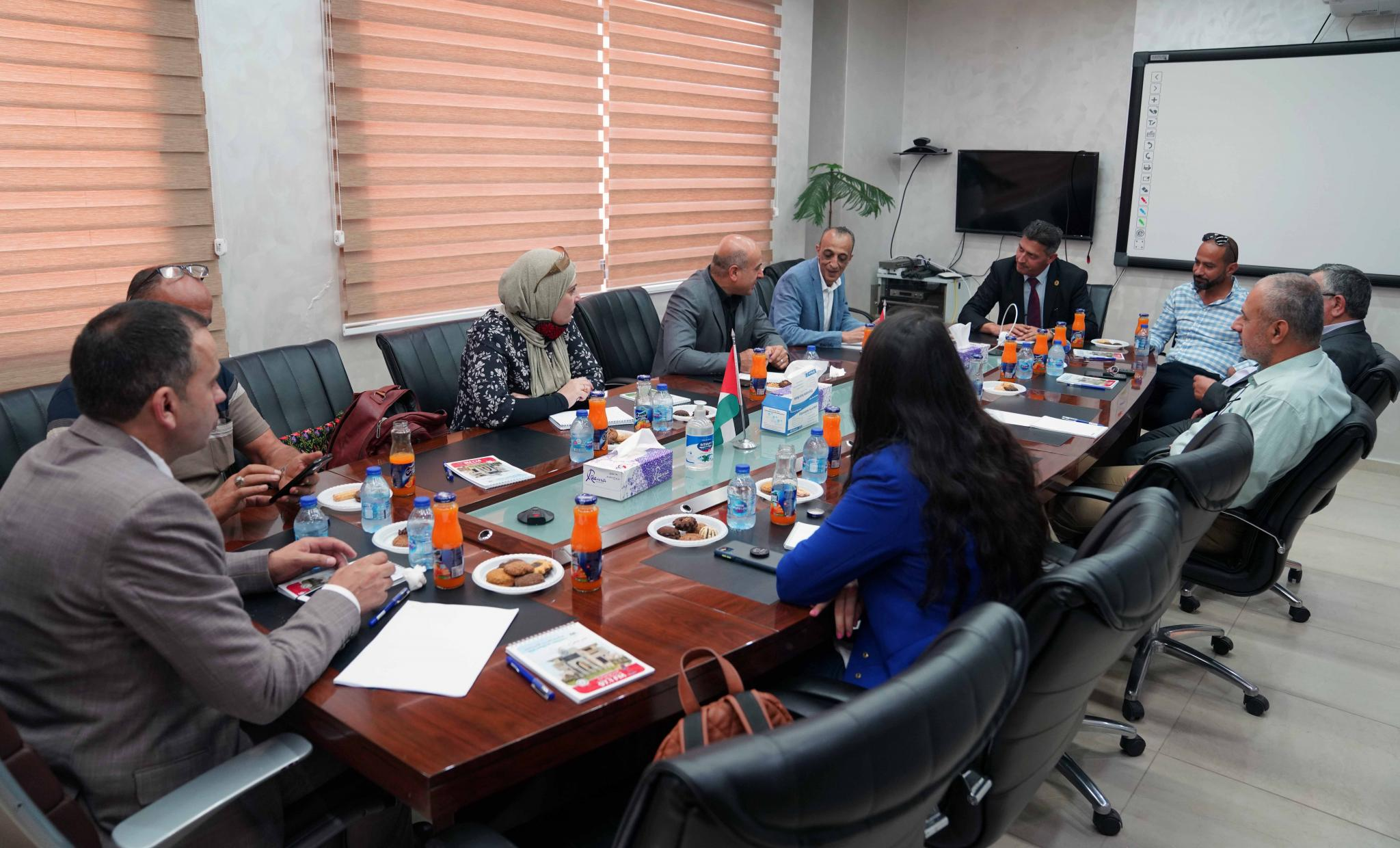 """AAUP and its Partners Lunch the Projects of """"the Meteorological Station"""" and """"the Smart Agriculture"""""""