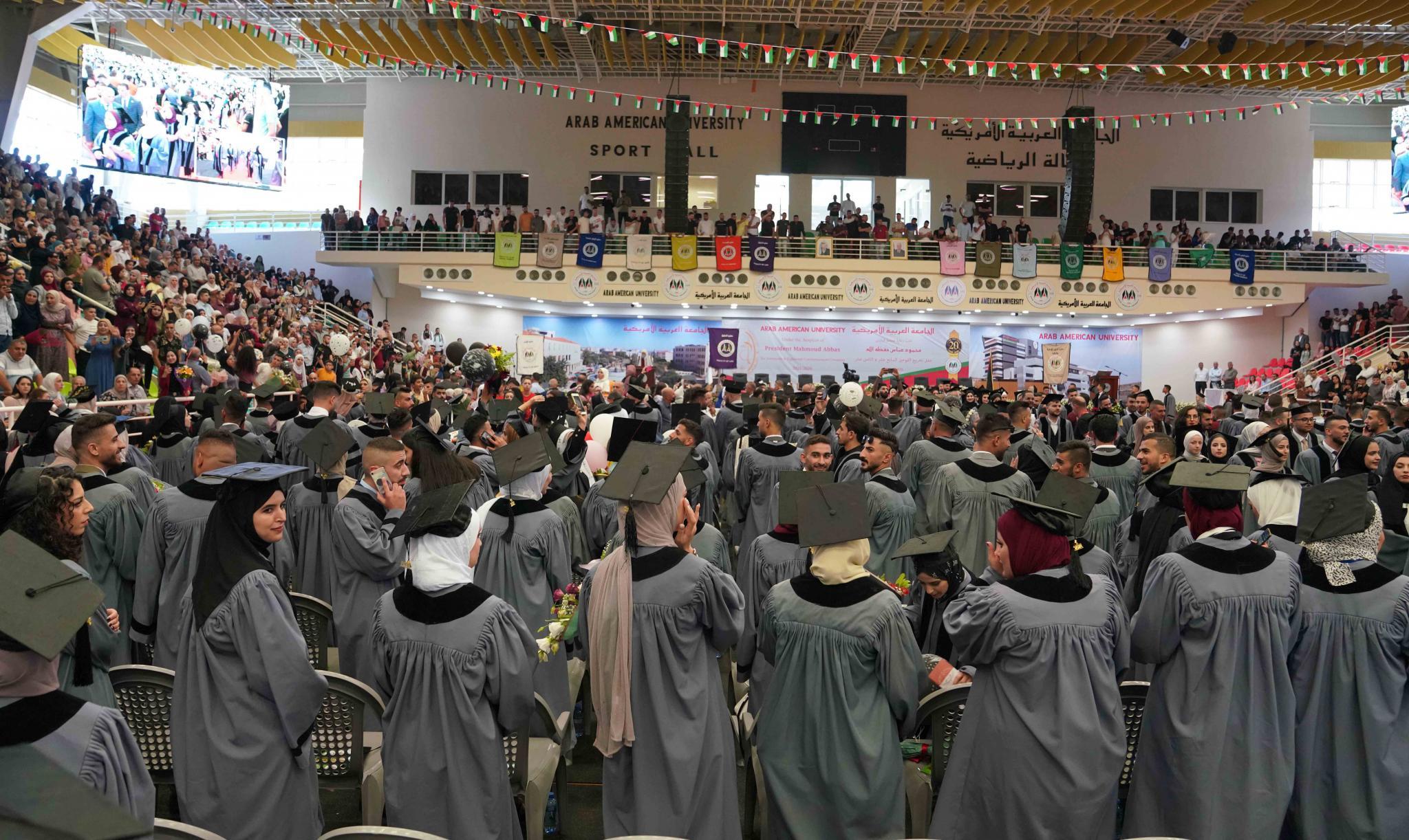 الجامعة  تختتم حفلات تخريج فوجي السابع والثامن عشرمن طلبتها