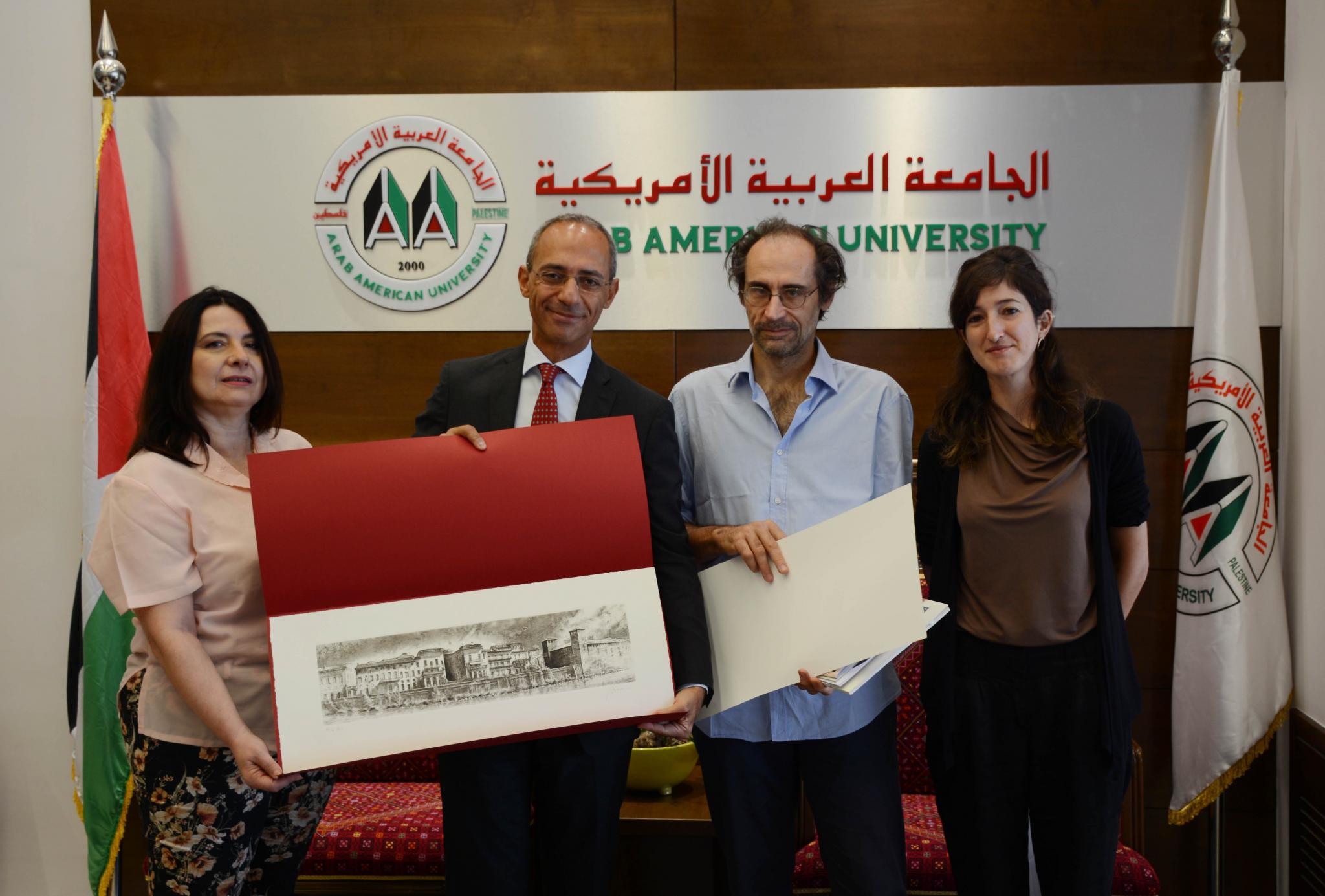 AAUP Announces the Launch the Bachelor Program in Interior Architecture With the Presence of the Italian Consul and a Delegation From the Academy of Fine Arts Verona