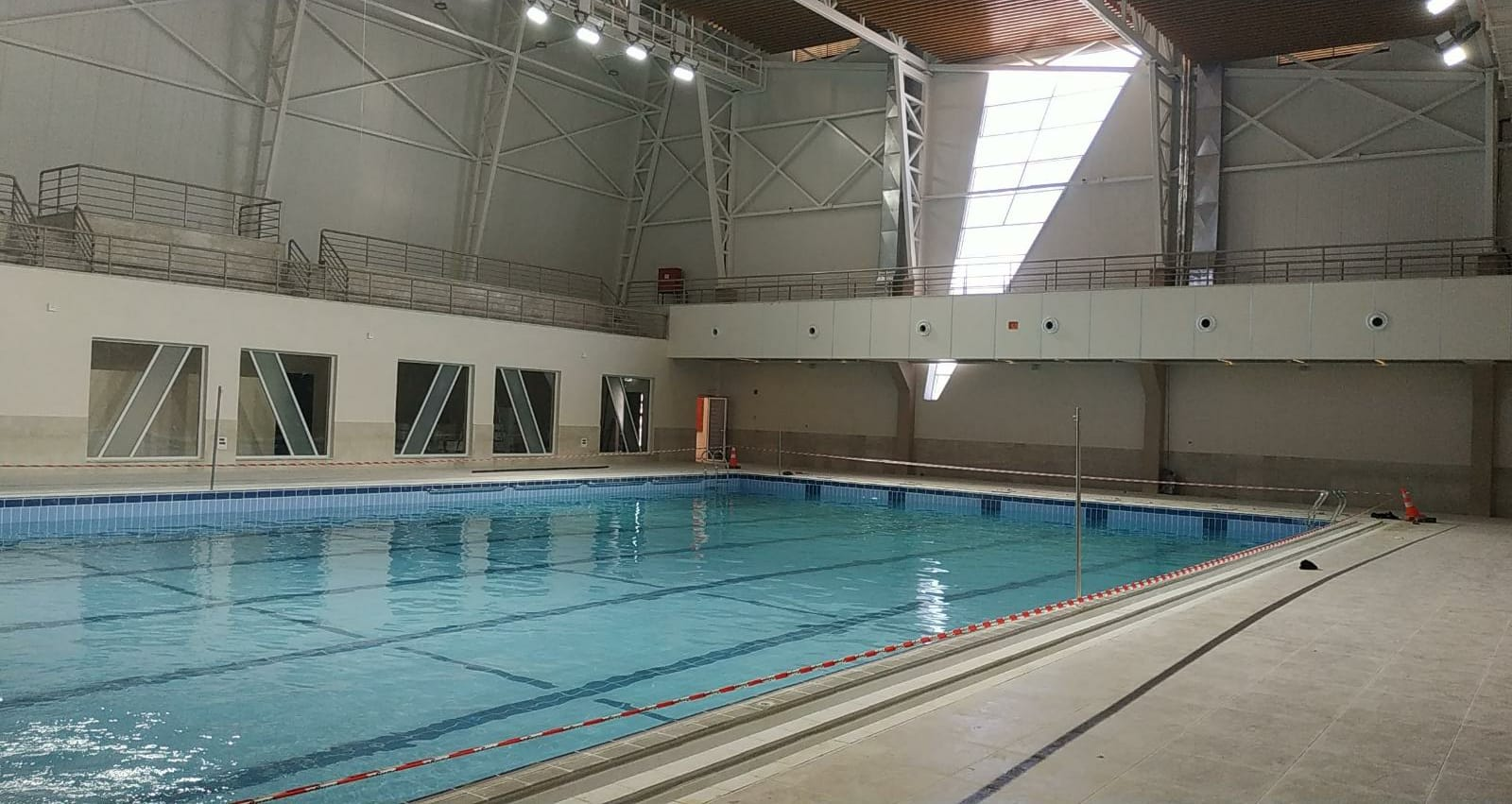 AAUP Half-Olympic Swimming Pool the First of its kind in Palestine – Opening Soon