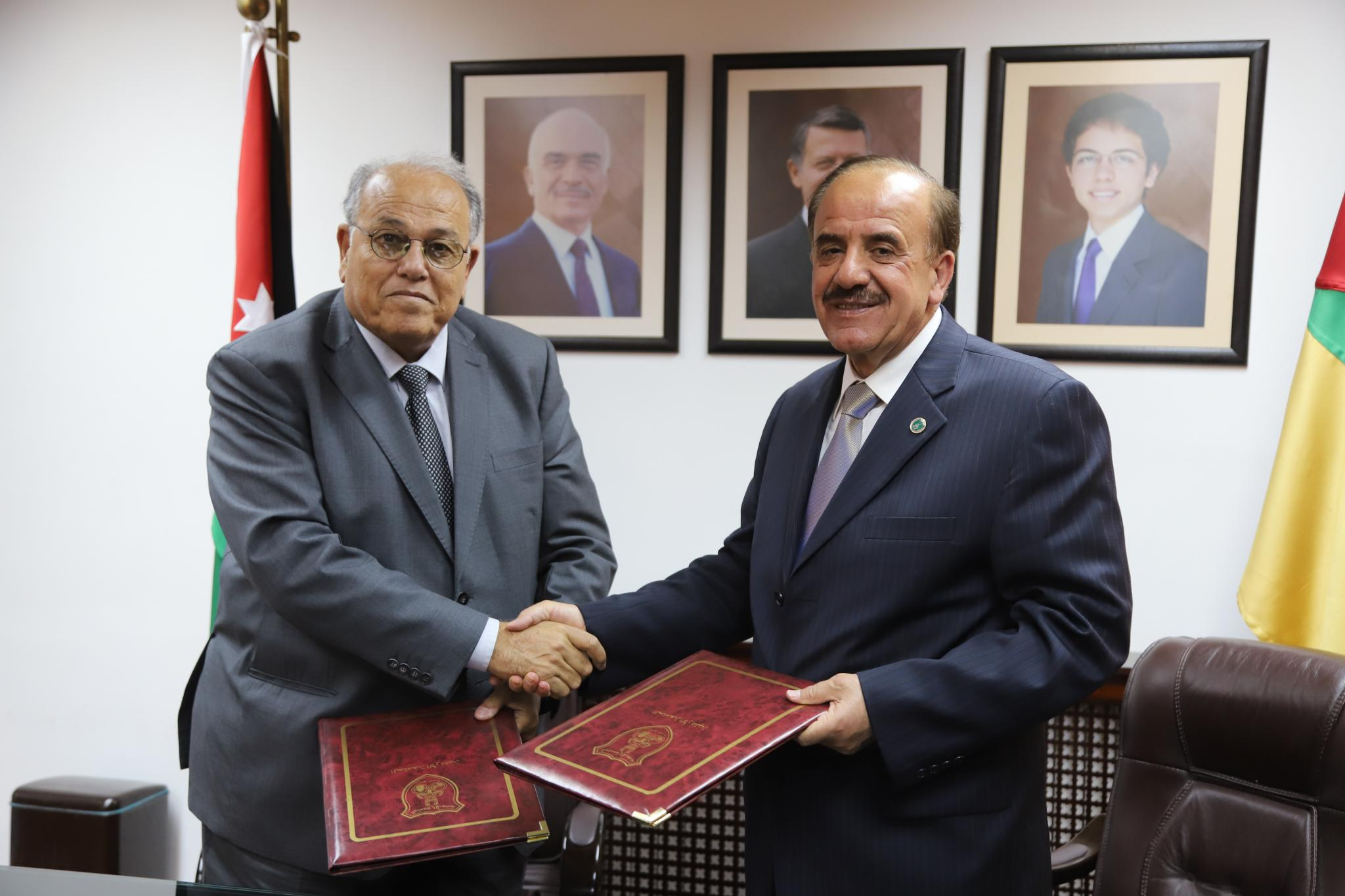 University of Jordan and Arab American University sign MoU for accepting students in Medical Doctor ( MD ) program