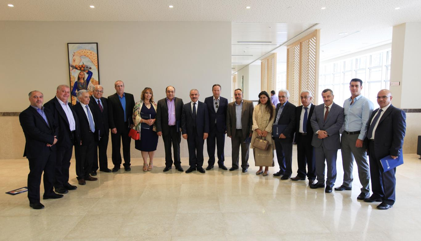 University new Board of Trustees started his 4th Session with a meeting in AAUJ Ramallah campus