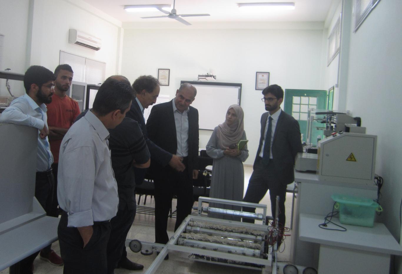 Visiting the Jerusalem Electricity Company Training center