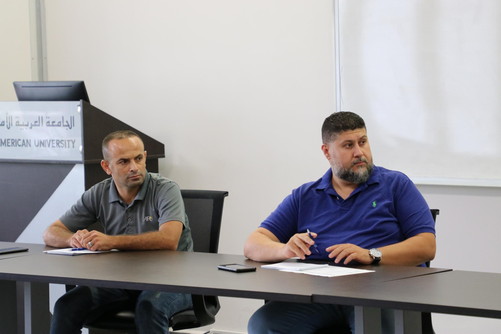 AAUP Hosts the Palestinian University Sports Federation Board Meeting