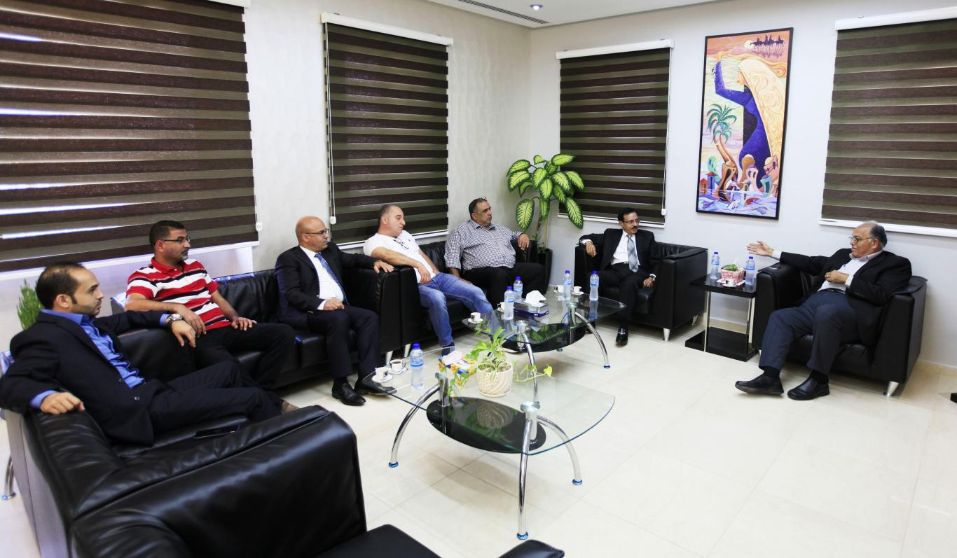 Chairman of Board of Directors Dr. Yousef Asfour Visits the Arab ...