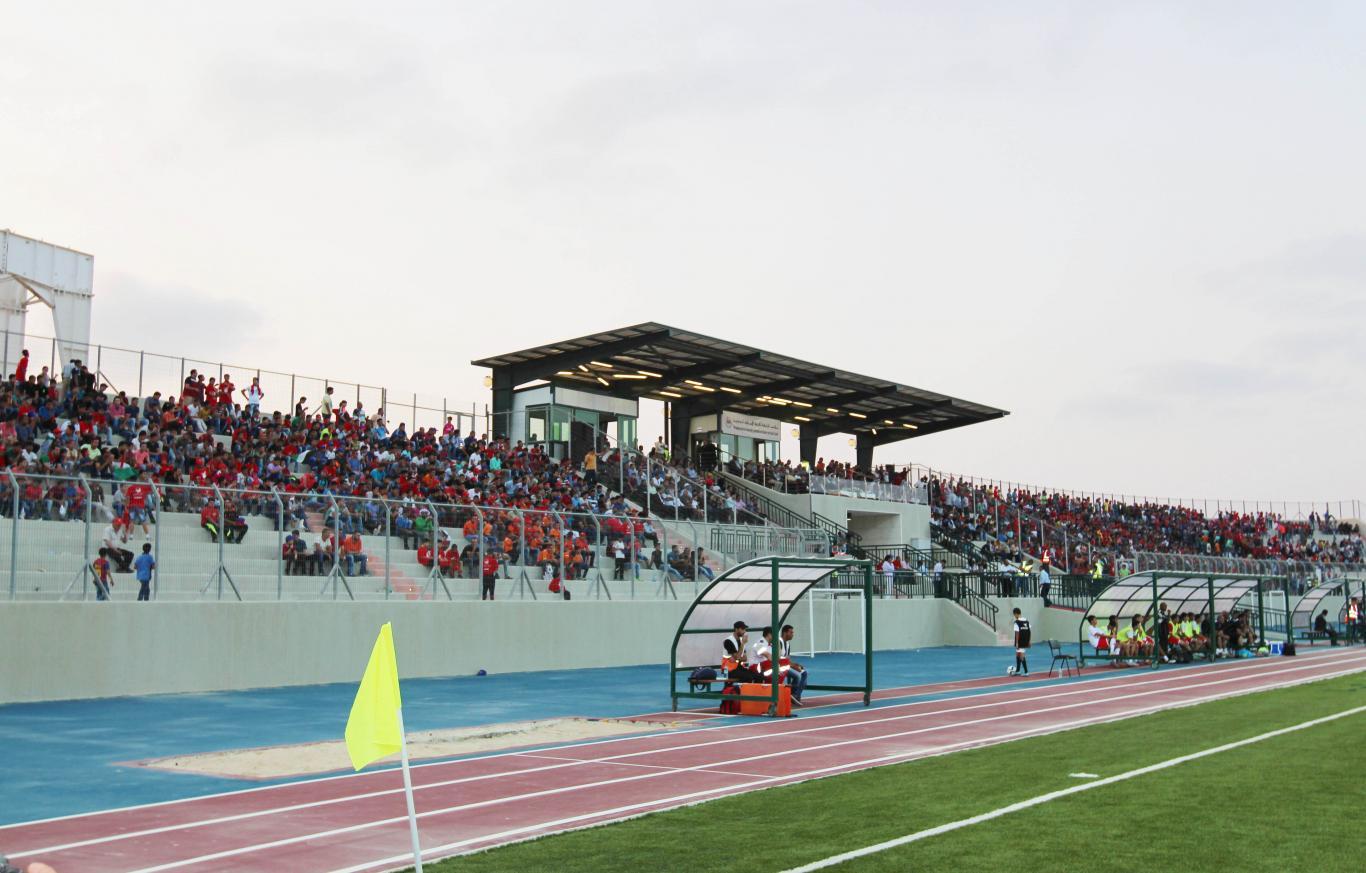استضافة ملعب الجامعة الدولي لمباريات كأس اسيا للناشئين