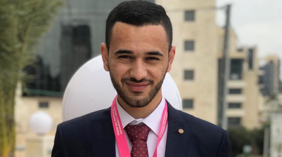 The Student Rida Abu Shaikhah