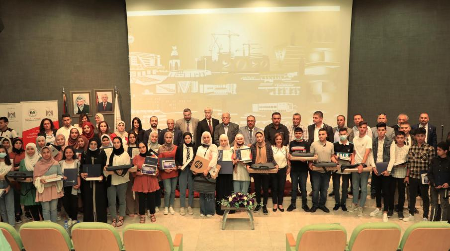 AAUP and the Ministry of Education Honor School Students who Won in the Competitions that AAUP Organized