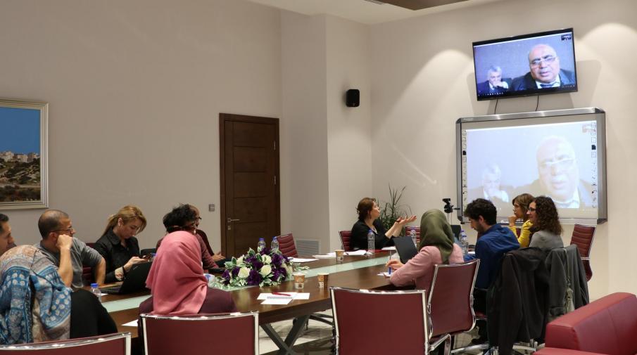 The University organizes a workshop entitled