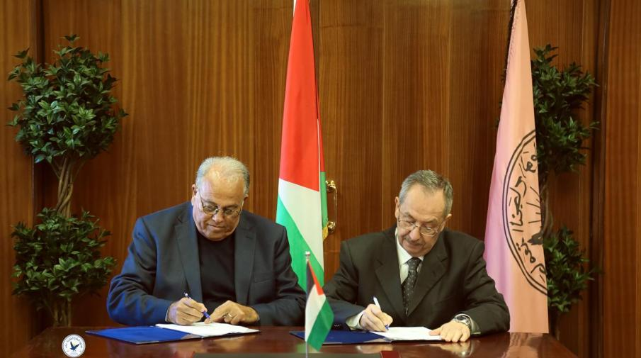 Part of the cooperation agreement signing to launch a joint master program in public relations