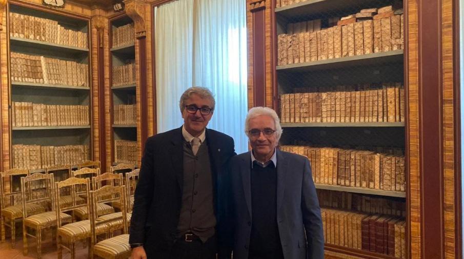 الجامعة تبحث التعاون وبناء برامج مشتركة مع جامعة بيروجيا في إيطاليا