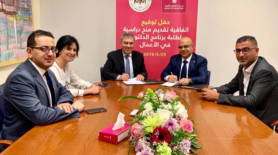 BOP signs an MoU to support Doctoral Program in Business