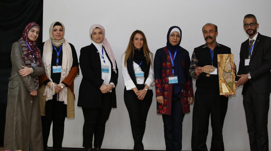 Honoring AAUP participant delegation in the sessions of the 2nd scientific day