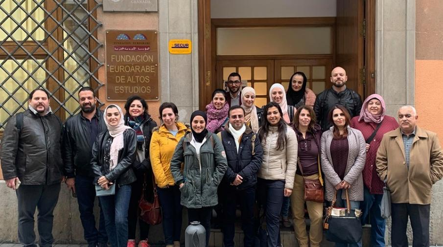 AAUP Started a Training Course in University of Granada in Spain as Part of the National Efficiency Enhancement Project