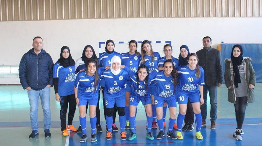 Arab American University girls football team