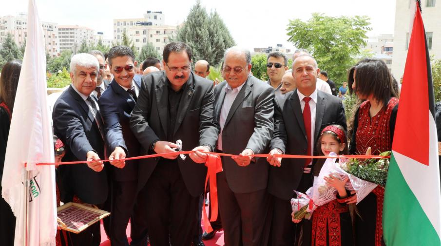 During opening the Rehabilitation Centers at the Faculty of Allied Medical Sciences