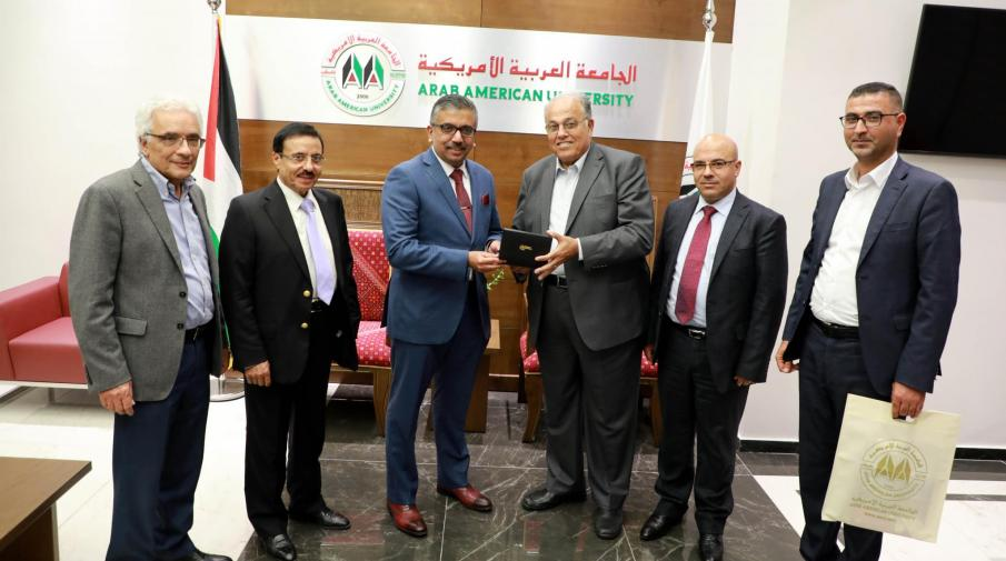 The University hosts the representative of the Republic of India to Palestine and discuss joint cooperation academic programs