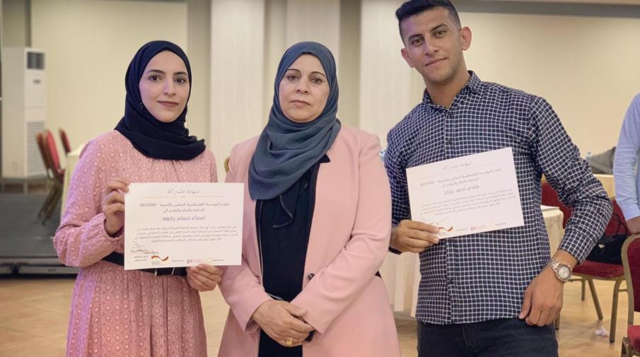 """AAUP Participates in the Research Competition """"Naher Haya"""" and Wins the Second Place"""