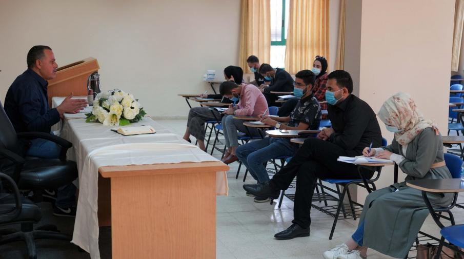 AAUP Launches a Series of Scientific Lectures for the Faculty of Law Graduates who are about to Take the Practice Test