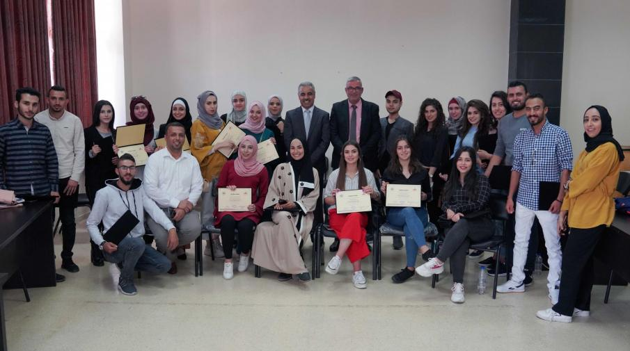 AAUP and Arab Islamic Bank Finished a Training Course About Pioneers in Islamic Banking