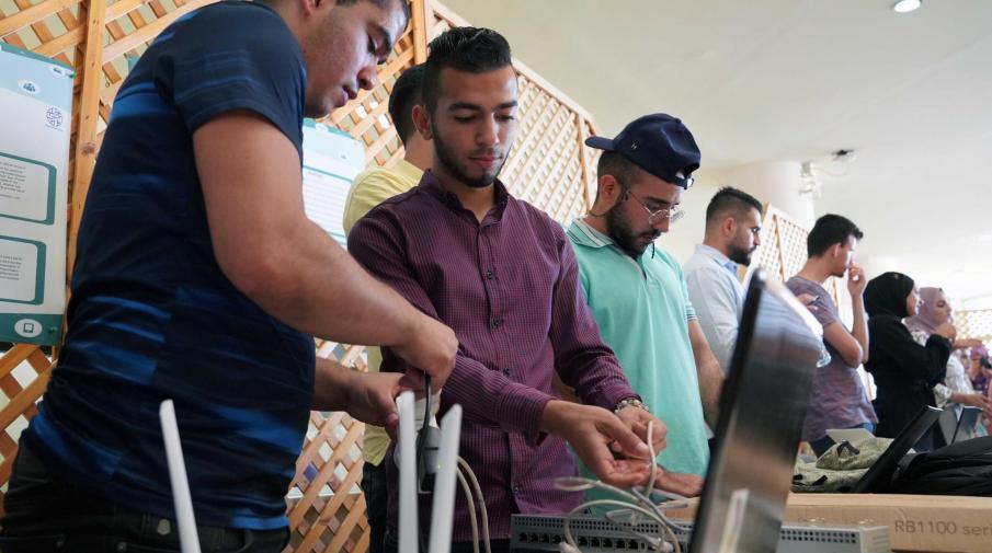الجامعة تنظم فعاليات يوم الهندسة والتكنولوجيا العاشر