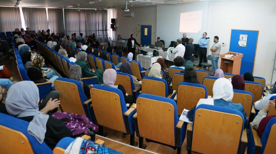 الجامعة تنظم ورشة عمل لطلبتها حول المختبر الجنائي بالتعاون مع إدارة الشؤون الأكاديمية في الشرطة